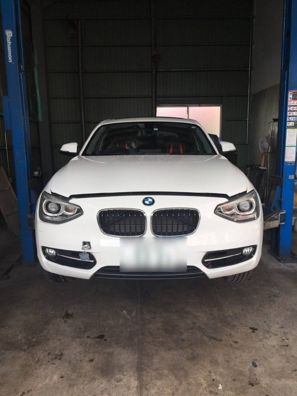 BMW116i 修理依頼きました!