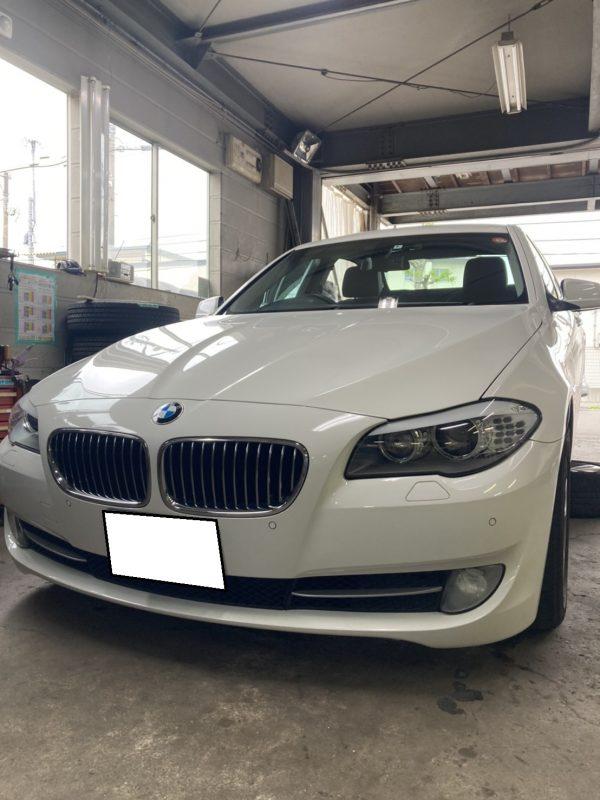 BMW 5シリーズ 下廻り異音!
