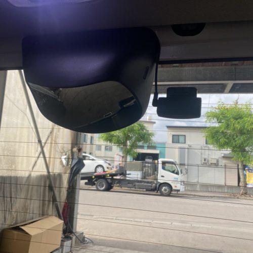 函館 三上モーター ドライブレコーダー 用品取付